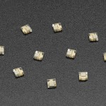 DotStar Micro LEDs (APA102–2020) - Smart SMD RGB LED - 10 pack