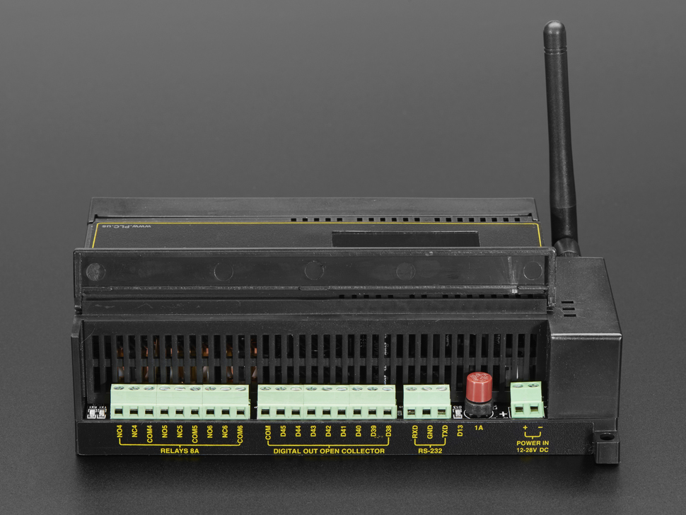 Digital Loggers PLDuino — ATmega2560 + ESP8266 Customizable PLC
