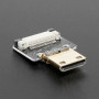 DIY HDMI Cable Parts - Straight Mini HDMI Plug Adapter