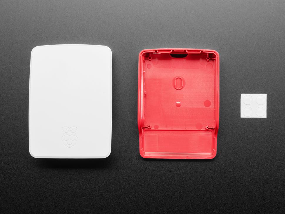 Official Raspberry Pi Foundation Raspberry Pi 4 Case — Red White