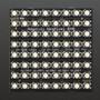 Adafruit NeoPixel NeoMatrix - 64 RGBW - Warm White - ~3000K2870-05