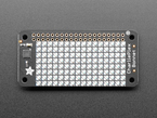 Adafruit CharliePlex LED Matrix Bonnet - 8x16 Yellow LEDs