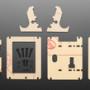 Adafruit PyPortal Desktop Stand Enclosure Kit