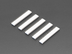 "20-pin 0.1"" Female Header - White - 5 pack"