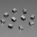 JST SH 4-pin Vertical Connector (10-pack) - Qwiic Compatible