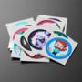 Cartoon Network Sticker Set for Circuit Playground Express