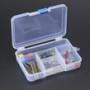 Latching 5-Compartment Storage Box
