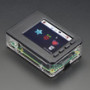 "Pi Model B+ / Pi 2 / Pi 3 - Case Base and Faceplate Pack - Clear - for 2.8"" PiTFT"