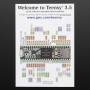 "The awesome new Teensy 3.5 is a small, breadboard-friendly development board designed by Paul Stoffregen and PJRC. Teensy 3.5 brings a low-cost 32-bit ARM Cortex-M4 platform to hobbyists, students and engineers, using an adapted version of the Arduino IDE (Teensyduino) or programming directly in C language. Teensy 3.5 is an upgrade over 3.2, for when you need even more power!  Version 3.5 features a 32 bit 120 MHz ARM Cortex-M4 processor with floating point unit. All digital pins are 5 volt tolerant. The unique specs for the 3.5 are:  120 MHz ARM Cortex-M4 with Floating Point Unit 512K Flash, 256K RAM, 4K EEPROM Microcontroller Chip MK64FX512VMD12 (PDF link) 1 CAN Bus Port 16 General Purpose DMA Channels 5 Volt Tolerance On All Digital I/O Pins The latest in the line of very powerful, USB-capable microcontrollers, the Teensy 3.5 and 3.6 development boards are faster, more capable, and bigger, putting even more pins on a solderless breadboard. Teensy 3.5 offers a little bit less in its features (MCU, RAM, Flash, clock and some peripherals) which makes it slightly cheaper than Teensy 3.6. Teensy 3.5 has 5V tolerance on all digital I/O pins. Only Teensy 3.6 has a USB High Speed (480 Mbit/sec) port accessed using 5 pins on the board.  Please note: Teensy 3 boards are not official Arduino-brand products. Although the Teensyduino IDE has been adapted so that many Arduino projects will work with the Teensy, there will still be a lot of libraries and shields that may not work with this device! If you're new to microcontrollers, we suggest going with a classic Arduino UNO since all Arduino projects, examples and libraries will work with it.  More Specifications, Details & Features:  62 I/O Pins (42 breadboard friendly) 25 Analog Inputs to 2 ADCs with 13 bits resolution 2 Analog Outputs (DACs) with 12 bit resolution 20 PWM Outputs (Teensy 3.6 has 22 PWM) USB Full Speed (12 Mbit/sec) Port Ethernet mac, capable of full 100 Mbit/sec speed Native (4 bit SDIO) micro SD card port I2S Audio Port, 4 Channel Digital Audio Input & Output 14 Hardware Timers Cryptographic Acceleration Unit Random Number Generator CRC Computation Unit 6 Serial Ports (2 with FIFO & Fast Baud Rates) 3 SPI Ports (1 with FIFO) 3 I2C Ports (Teensy 3.6 has a 4th I2C port) Real Time Clock Information, documentation and specs are on the Teensy site. Please check it out for more details!       TECHNICAL DETAILS Product Dimensions: 62.3mm x 18.0mm x 4.2mm / 2.5"" x 0.7"" x 0.2""  Product Weight: 4.8g / 0.2oz"
