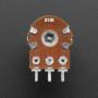 Panel Mount 10K Dual Linear Potentiometer - 10K Dual Linear