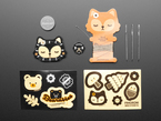 Pimoroni Bearables Fox Kit
