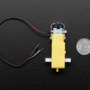 "DC Gearbox Motor - ""TT Motor"" - 200RPM - 3 to 6VDC"
