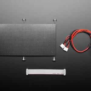 64x32 Flexible RGB LED Matrix - 4mm Pitch