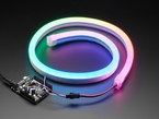 NeoPixel RGB Neon-like LED Flex Strip with Silicone Tube - 1 meter