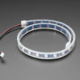 Adafruit NeoPixel LED Strip with 3-pin JST Connector - 60 LED/meter / 0.5 Meter
