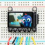"Adafruit 1.14"" 240x135 Color TFT Display + MicroSD Card Breakout - ST7789"