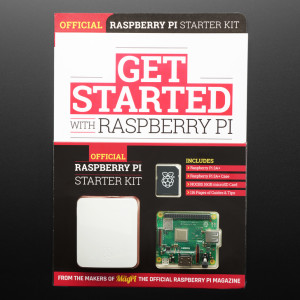 Getting Started with Raspberry Pi 3 A+ Book Bundle - Includes Pi, Case, & SD Card