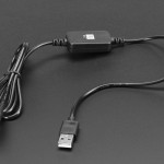 USB to 5.5mm / 2.1mm or 2.5mm DC Booster Cable - 12V Output