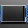 "3.2"" TFT LCD with Touchscreen Breakout Board w/MicroSD Socket - ILI9341"