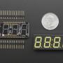 """Adafruit 0.56"""" 4-Digit 7-Segment Display w/ FeatherWing - White"""
