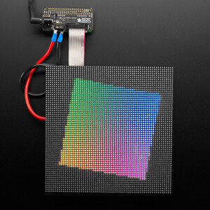 Adafruit RGB Matrix Bonnet for Raspberry Pi