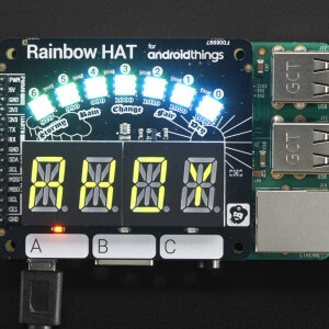 Pimoroni Rainbow HAT for Android Things™ and Raspberry Pi