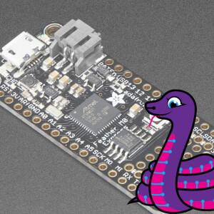 Adafruit Feather M0 Express - Designed for CircuitPython - ATSAMD21 Cortex M0
