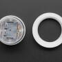 Mini LED Arcade Button - 24mm Translucent Clear