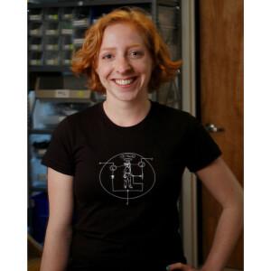 Transistor Man Shirt - Womens Small