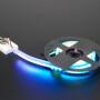 Adafruit NeoPixel LED Side Light Strip - Black 120 LED