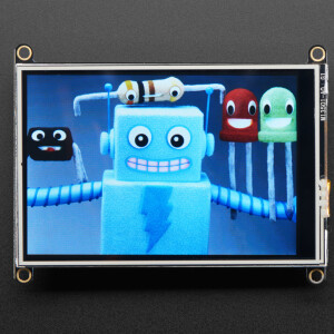 """Adafruit TFT FeatherWing - 3.5"""" 480x320 Touchscreen for Feathers"""