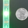 Adafruit NeoPixel LED Strip w/ Alligator Clips - 30 LEDs/meter - 1 Meter - BLACK