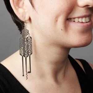 Lock-sport Earrings