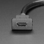 Snap-In Panel Mount HDMI Cable - 30cm