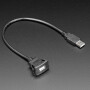 Snap-In Panel Mount Cable - USB A Extension Cable