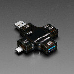 Multifunctional USB Digital Tester - USB A and C