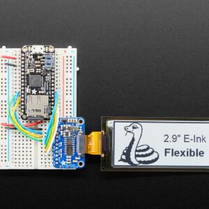 "2.9"" Flexible Monochrome eInk / ePaper Display - 296x128 Monochrome"