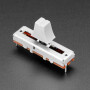 Slide Potentiometer with Plastic Knob - 35mm Long - 10KΩ