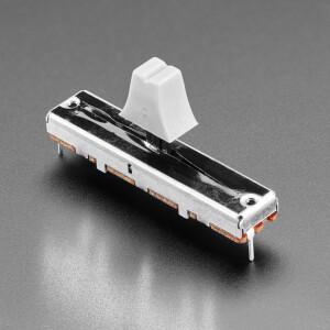 Slide Potentiometer with Plastic Knob - 45mm Long - 10KΩ