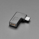 Right Angle USB Type C Adapter - USB 3.1 Gen 4 Compatible