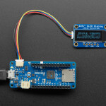 5-pin (Arduino MKR) to 4-pin JST SH STEMMA QT / Qwiic Cable - 100mm long