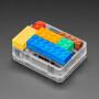 Plastic Translucent Enclosure for Metro or Arduino - LEGO Compatible