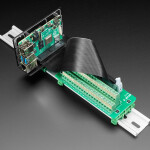 DIN Rail Mount Bracket for Raspberry Pi / BeagleBone / Arduino