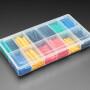 Pre-Cut Multi-Colored Heat Shrink Pack Kit - 280 pcs