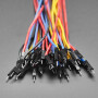 Premium Silicone Covered Extension Jumper Wires - 200mm x 40