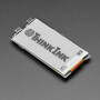 """Adafruit 2.13"""" Monochrome E-Ink Bonnet for Raspberry Pi - THINK INK"""