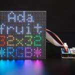 Adafruit RGB Matrix FeatherWing Kit - For nRF52840 Feathers