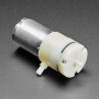 Air Pump and Vacuum DC Motor - 4.5 V and 2.5 LPM - ZR370-02PM