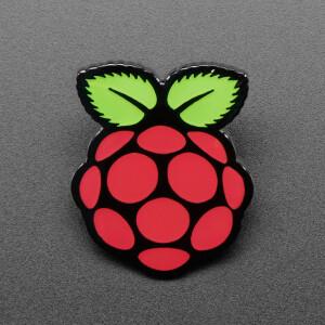 Raspberry Pi Enamel Pin