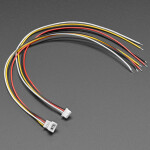 1.25mm Pitch 4-pin Cable Matching Pair - 40cm long - Molex PicoBlade Compatible